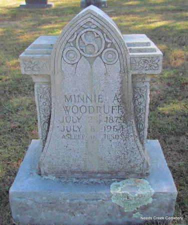 WOODRUFF, MINNIE A. - Faulkner County, Arkansas | MINNIE A. WOODRUFF - Arkansas Gravestone Photos