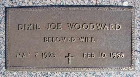 WOODWARD, DIXIE JOE - Faulkner County, Arkansas   DIXIE JOE WOODWARD - Arkansas Gravestone Photos