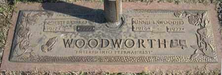 WOODWORTH, JESSE (JAKE) - Faulkner County, Arkansas | JESSE (JAKE) WOODWORTH - Arkansas Gravestone Photos