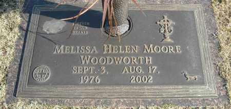MOORE WOODWORTH, MELISSA HELEN - Faulkner County, Arkansas | MELISSA HELEN MOORE WOODWORTH - Arkansas Gravestone Photos