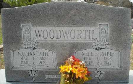 WOODWORTH, NELLIE - Faulkner County, Arkansas | NELLIE WOODWORTH - Arkansas Gravestone Photos