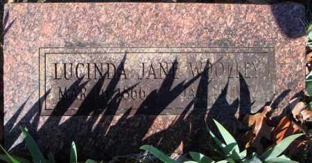 WOOLEY, LUCINDA JANE - Faulkner County, Arkansas | LUCINDA JANE WOOLEY - Arkansas Gravestone Photos