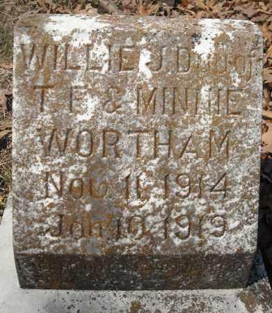 WORTHAM, WILLIE J. - Faulkner County, Arkansas | WILLIE J. WORTHAM - Arkansas Gravestone Photos
