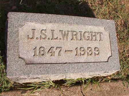 WRIGHT, J.S.L. - Faulkner County, Arkansas | J.S.L. WRIGHT - Arkansas Gravestone Photos