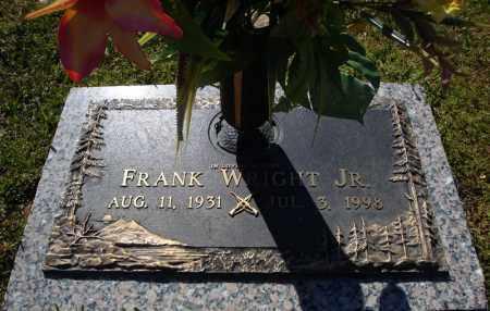 WRIGHT, JR., FRANK - Faulkner County, Arkansas | FRANK WRIGHT, JR. - Arkansas Gravestone Photos