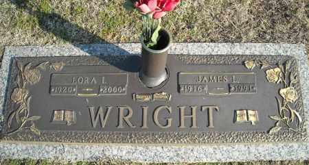 WRIGHT, JAMES L. - Faulkner County, Arkansas | JAMES L. WRIGHT - Arkansas Gravestone Photos