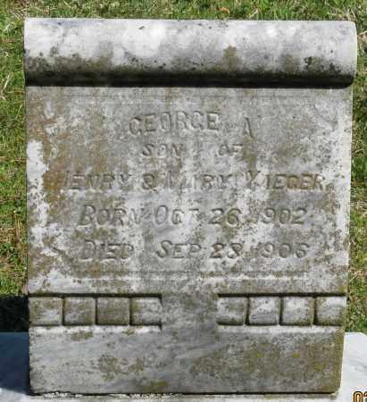 YAEGER, GEORGE A. - Faulkner County, Arkansas   GEORGE A. YAEGER - Arkansas Gravestone Photos