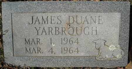 YARBROUGH, JAMES DUANE - Faulkner County, Arkansas | JAMES DUANE YARBROUGH - Arkansas Gravestone Photos