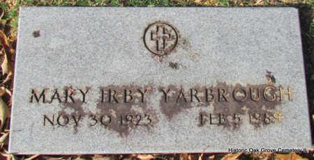 YARBROUGH, MARY - Faulkner County, Arkansas | MARY YARBROUGH - Arkansas Gravestone Photos