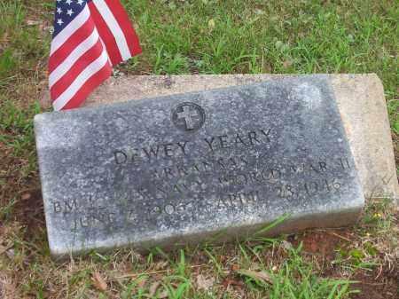 YEARY, DEWEY - Faulkner County, Arkansas | DEWEY YEARY - Arkansas Gravestone Photos