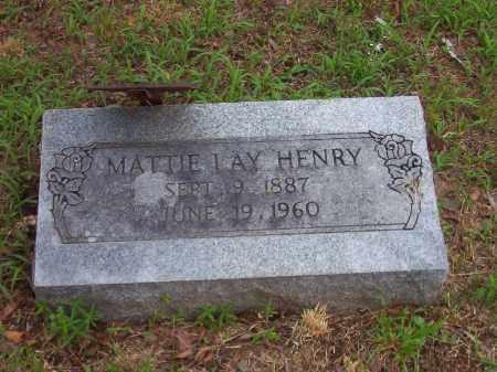 LAY YEARY HENRY, MATTIE ANN - Faulkner County, Arkansas | MATTIE ANN LAY YEARY HENRY - Arkansas Gravestone Photos