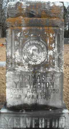 YELVERTON, THOMAS J. - Faulkner County, Arkansas   THOMAS J. YELVERTON - Arkansas Gravestone Photos