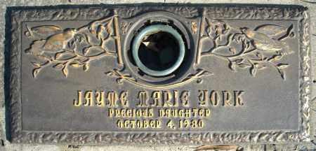 YORK, JAYME MARIE - Faulkner County, Arkansas   JAYME MARIE YORK - Arkansas Gravestone Photos