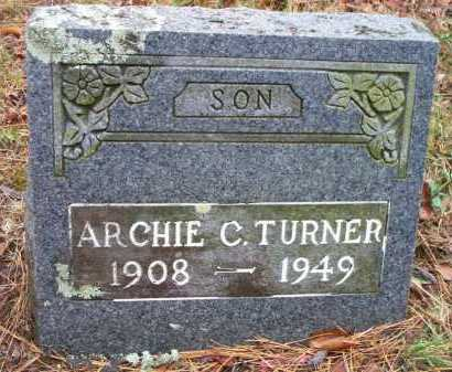TURNER, ARCHIE C - Franklin County, Arkansas   ARCHIE C TURNER - Arkansas Gravestone Photos