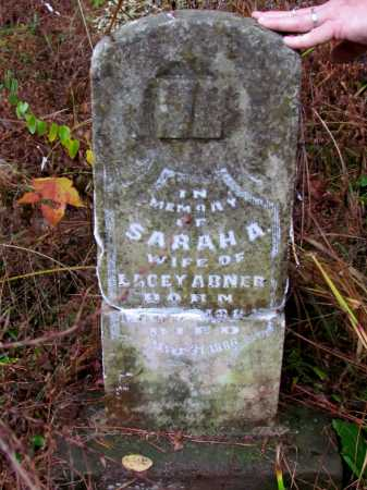 ABNER, SARAH A - Franklin County, Arkansas | SARAH A ABNER - Arkansas Gravestone Photos