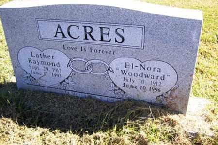 WOODWARD ACRES, EL-NORA - Franklin County, Arkansas | EL-NORA WOODWARD ACRES - Arkansas Gravestone Photos