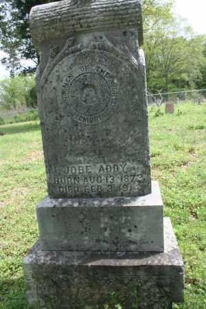 ADDY, JOBE - Franklin County, Arkansas | JOBE ADDY - Arkansas Gravestone Photos