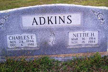 ADKINS, NETTIE H. - Franklin County, Arkansas | NETTIE H. ADKINS - Arkansas Gravestone Photos