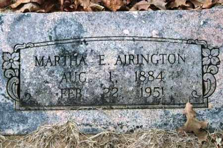 AIRINGTON, MARTHA E - Franklin County, Arkansas | MARTHA E AIRINGTON - Arkansas Gravestone Photos