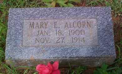 ALCORN, MARY E - Franklin County, Arkansas | MARY E ALCORN - Arkansas Gravestone Photos
