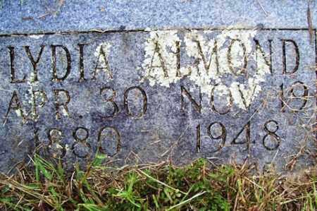 ALMOND, LYDIA - Franklin County, Arkansas | LYDIA ALMOND - Arkansas Gravestone Photos
