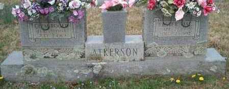 ATKERSON, CLEM ROGER - Franklin County, Arkansas | CLEM ROGER ATKERSON - Arkansas Gravestone Photos