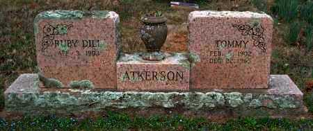 DILL ATKERSON, RUBY BELL - Franklin County, Arkansas | RUBY BELL DILL ATKERSON - Arkansas Gravestone Photos