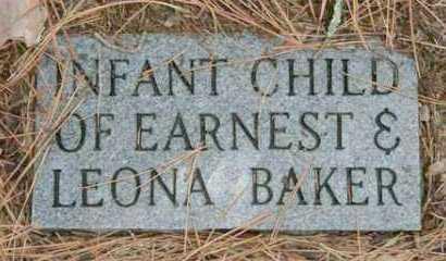 BAKER, INFANT - Franklin County, Arkansas   INFANT BAKER - Arkansas Gravestone Photos