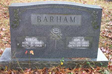 BARHAM, IDA F - Franklin County, Arkansas | IDA F BARHAM - Arkansas Gravestone Photos