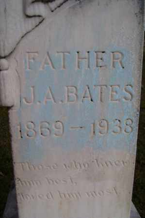 BATES, JOHN ALLEN - Franklin County, Arkansas   JOHN ALLEN BATES - Arkansas Gravestone Photos