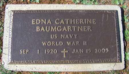 BAUMGARTNER (VETERAN WWII), EDNA CATHERINE - Franklin County, Arkansas | EDNA CATHERINE BAUMGARTNER (VETERAN WWII) - Arkansas Gravestone Photos