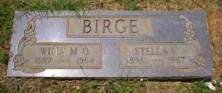 BIGGS BIRGE, STELLA V - Franklin County, Arkansas   STELLA V BIGGS BIRGE - Arkansas Gravestone Photos