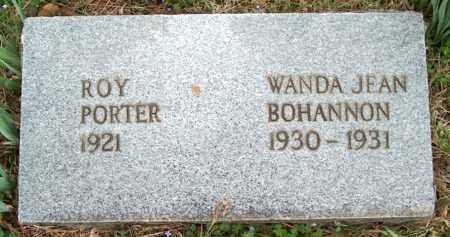 BOHANNON, WANDA JEAN - Franklin County, Arkansas | WANDA JEAN BOHANNON - Arkansas Gravestone Photos
