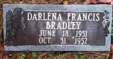 BRADLEY, DARLENA FRANCIS - Franklin County, Arkansas | DARLENA FRANCIS BRADLEY - Arkansas Gravestone Photos