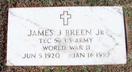 BREEN, JR (VETERAN WWII), JAMES J - Franklin County, Arkansas | JAMES J BREEN, JR (VETERAN WWII) - Arkansas Gravestone Photos