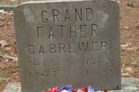 BREWER, C  A - Franklin County, Arkansas | C  A BREWER - Arkansas Gravestone Photos