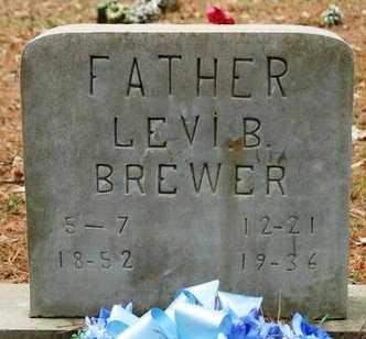 BREWER, LEVI B - Franklin County, Arkansas | LEVI B BREWER - Arkansas Gravestone Photos