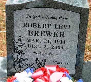 BREWER, ROBERT LEVI - Franklin County, Arkansas   ROBERT LEVI BREWER - Arkansas Gravestone Photos