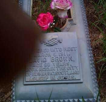 BROWN, DAVID - Franklin County, Arkansas | DAVID BROWN - Arkansas Gravestone Photos
