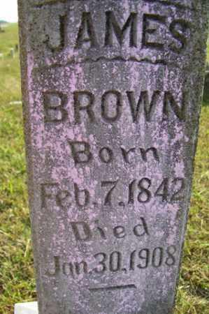 BROWN, JAMES - Franklin County, Arkansas | JAMES BROWN - Arkansas Gravestone Photos