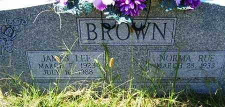 BROWN, JAMES LEE - Franklin County, Arkansas | JAMES LEE BROWN - Arkansas Gravestone Photos