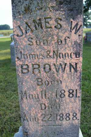 BROWN, JAMES W - Franklin County, Arkansas   JAMES W BROWN - Arkansas Gravestone Photos