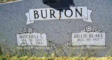 BURTON, MITCHELL L. - Franklin County, Arkansas | MITCHELL L. BURTON - Arkansas Gravestone Photos