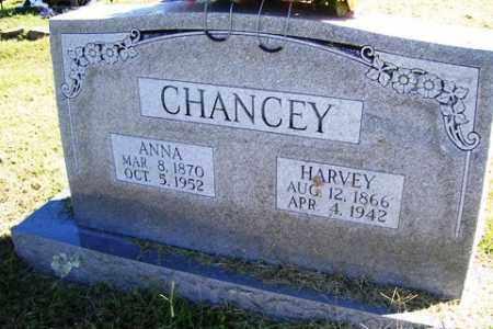 CHANCEY, HARVEY - Franklin County, Arkansas | HARVEY CHANCEY - Arkansas Gravestone Photos
