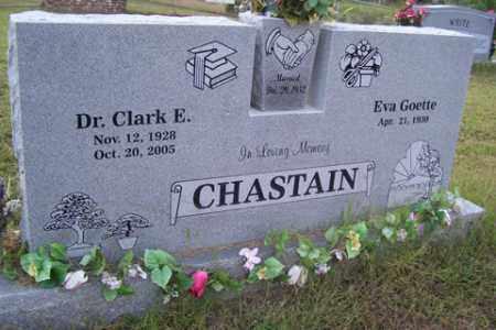 CHASTAIN, DR, CLARK E - Franklin County, Arkansas | CLARK E CHASTAIN, DR - Arkansas Gravestone Photos