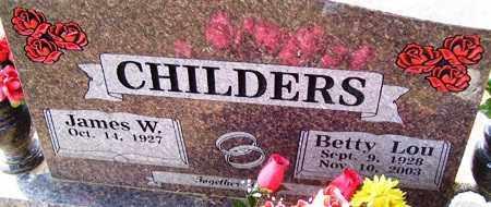 CHILDERS, BETTY LOU - Franklin County, Arkansas   BETTY LOU CHILDERS - Arkansas Gravestone Photos
