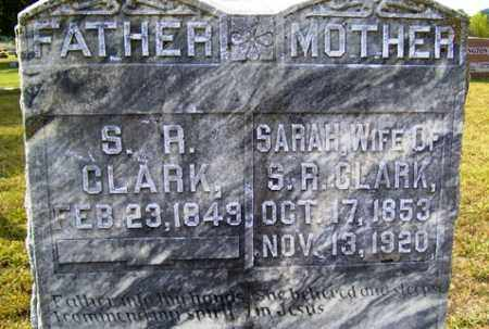 CLARK, S. R. - Franklin County, Arkansas | S. R. CLARK - Arkansas Gravestone Photos
