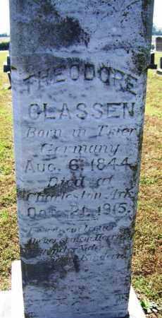 CLASSEN, THEODORE - Franklin County, Arkansas | THEODORE CLASSEN - Arkansas Gravestone Photos