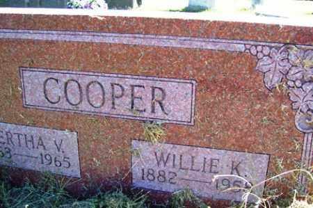 COOPER, BERTHA V. - Franklin County, Arkansas | BERTHA V. COOPER - Arkansas Gravestone Photos