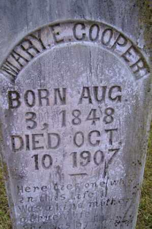 COOPER, MARY E - Franklin County, Arkansas | MARY E COOPER - Arkansas Gravestone Photos